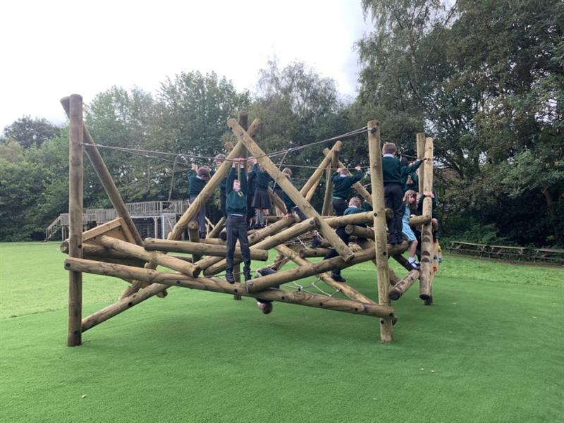 Climbing Frames For Primary Schools