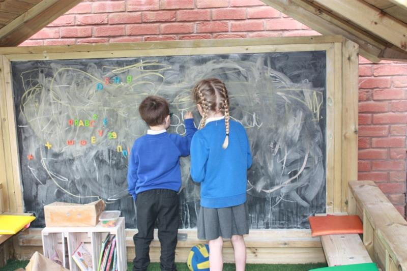 School Playground Playhouse