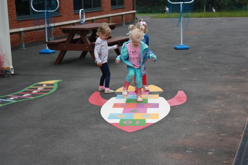 Thermoplastic Playground Markings