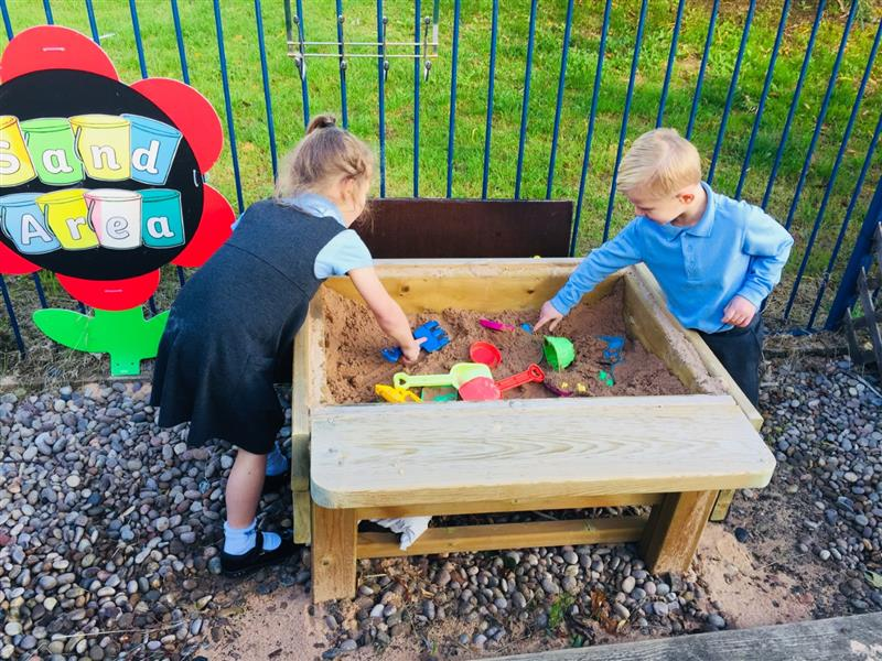 playground sand play