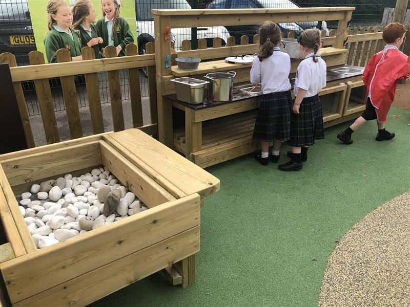 Mud Kitchen For Primary Schools
