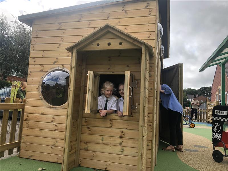 Playhouses For Primary Schools