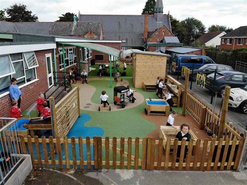 EYFS Playground Transformation