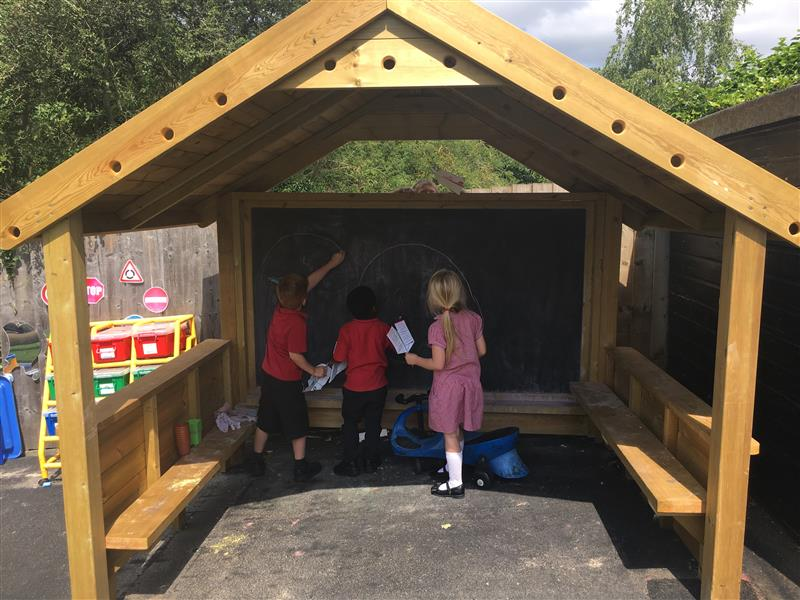 Playground playhouses for EYFS