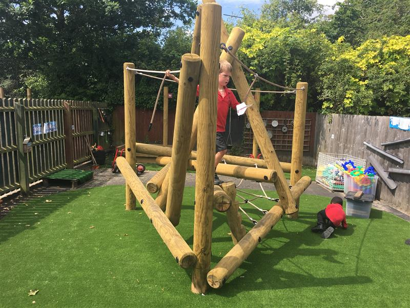 Playground Climbing Frames For EYFS