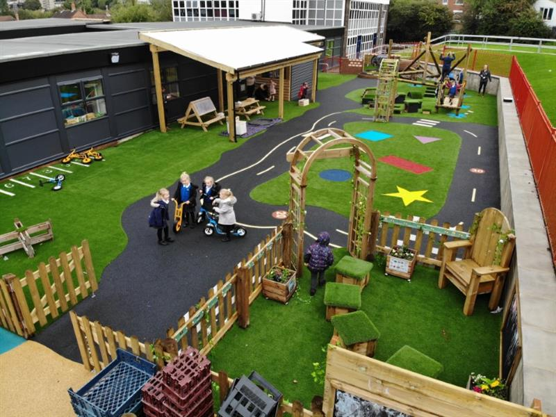 Play Equipment For EYFS Playgrounds