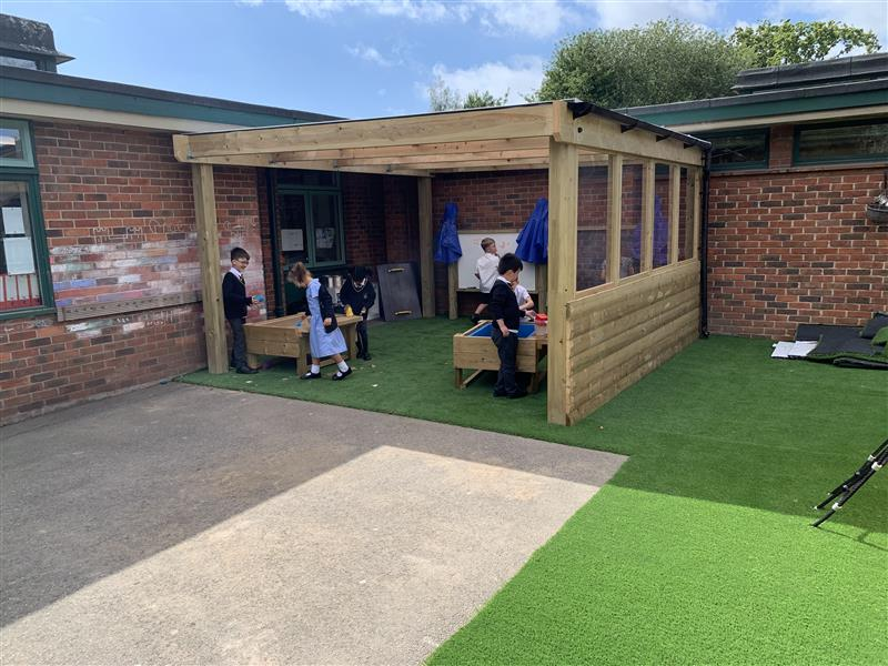 Timber Canopies For Schools