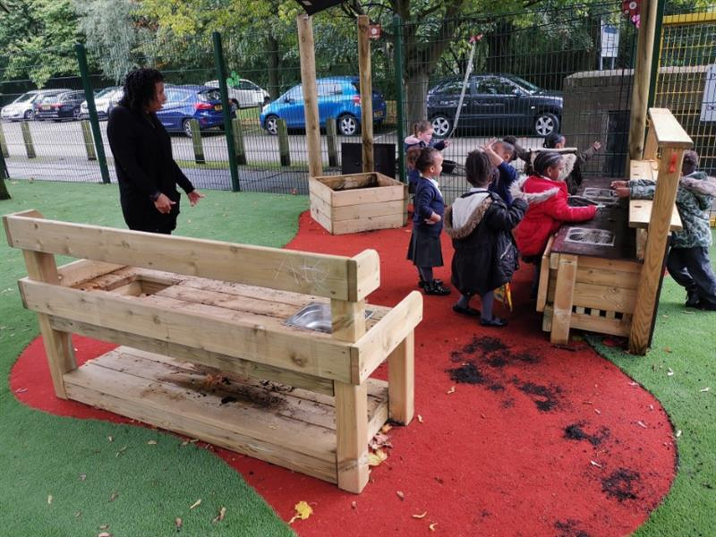 Messy Play Equipment For Schools