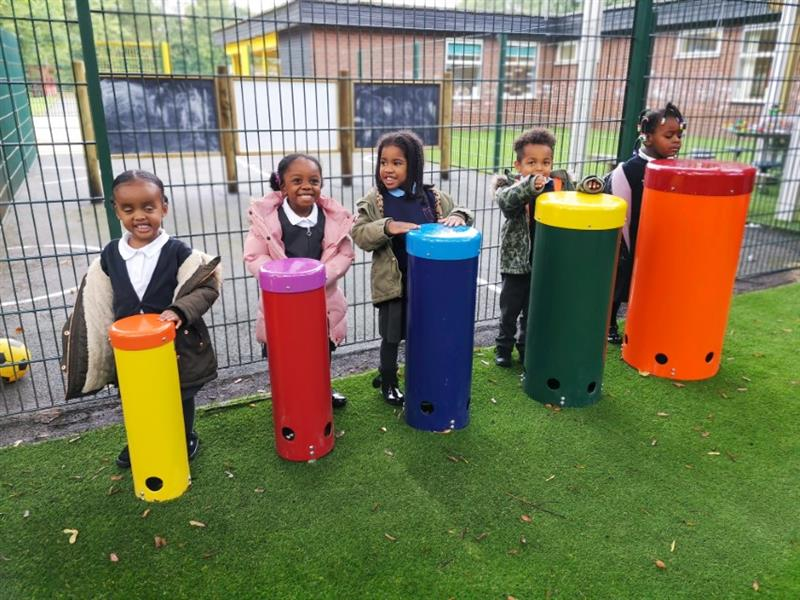 Musical Play Equipment For Schools