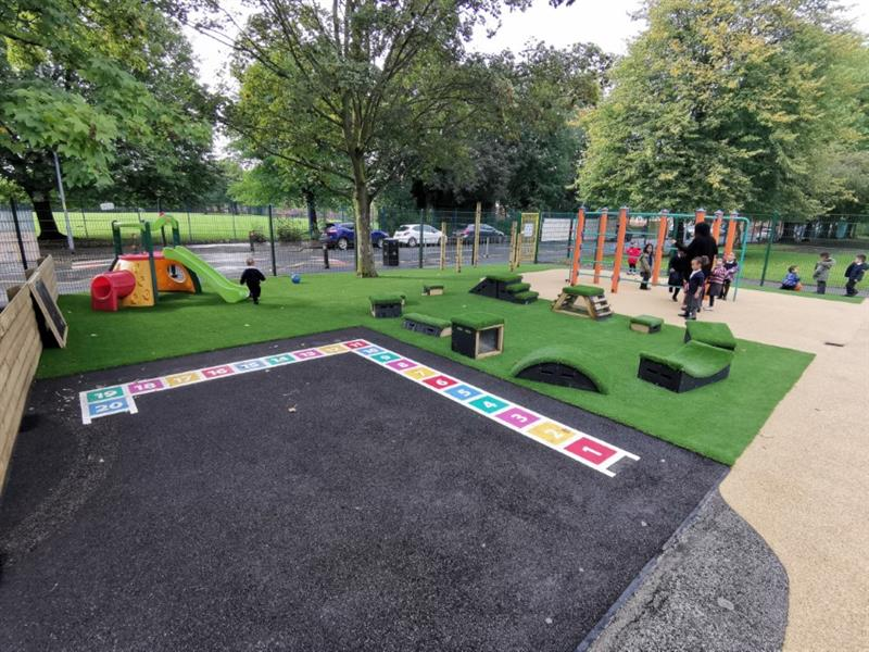 School Playground Surfacing