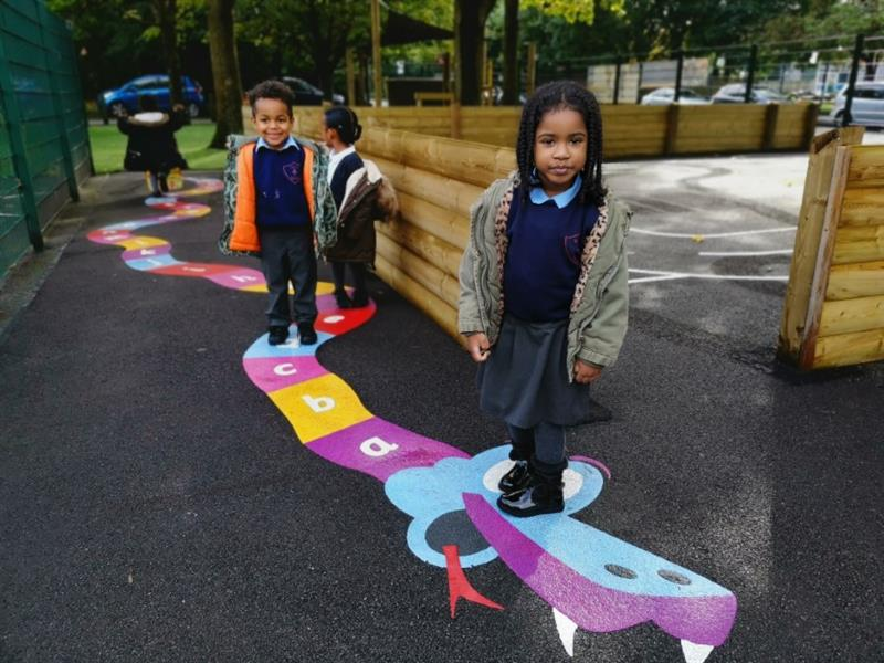 Playground Markings For Primary Schools