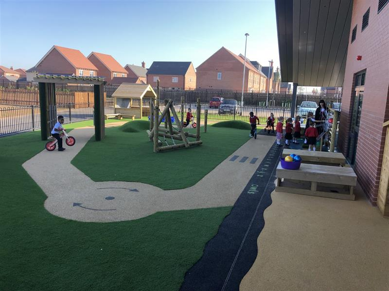 EYFS Playground Roadways