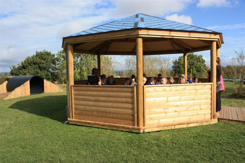 Timber Gazebos for Primary School Playgrounds