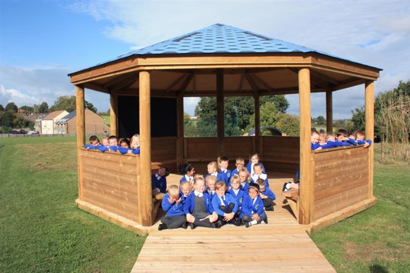 Outdoor Gazebos for Primary Schools