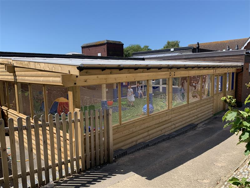 Canopies for primary schools