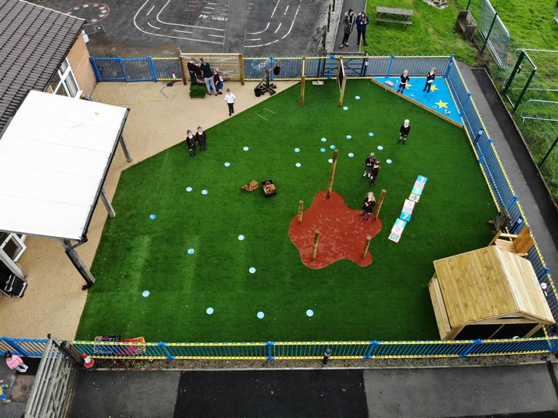 EYFS Playground Surfacing