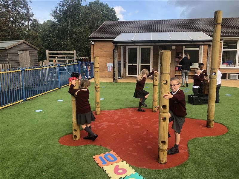 Den Making Playground Equipment