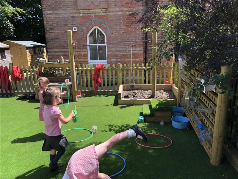 playground surfacing for eyfs