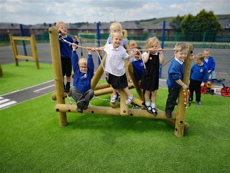Climbing Frames For EYFS Playgrounds
