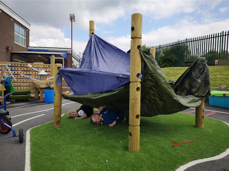 Playground Equipment For Den Making