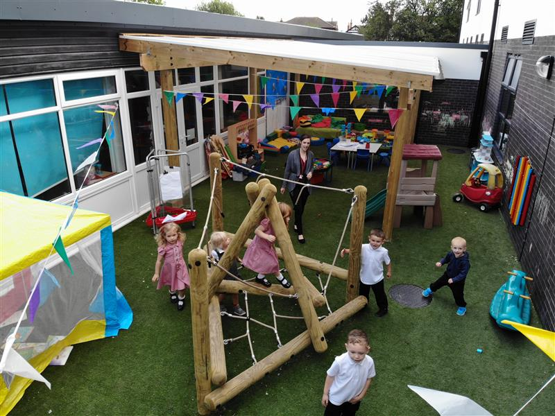Outdoor Play Equipment For Nurseries