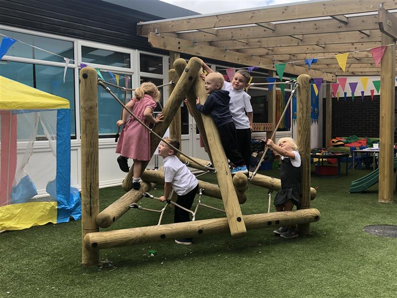 Climbing Frames For Nursery Children