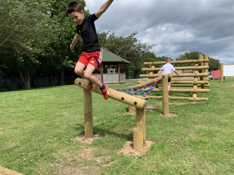 ninja warrior assault course for schools