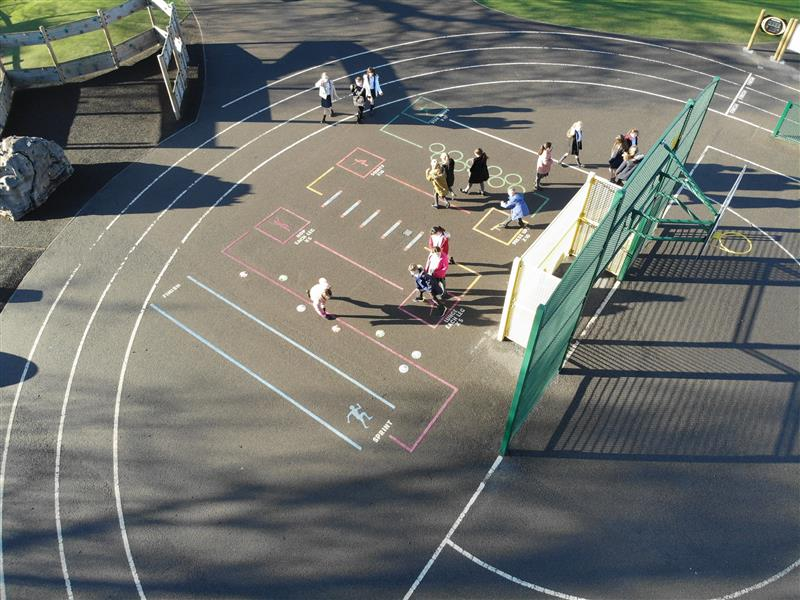School Playground Markings