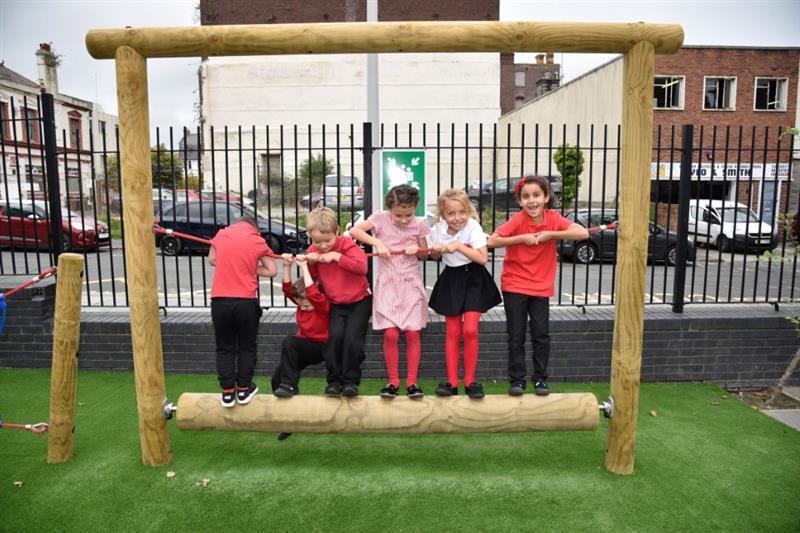 School Playground Trim Trails