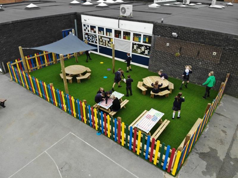 Playground Fencing For Primary Schools