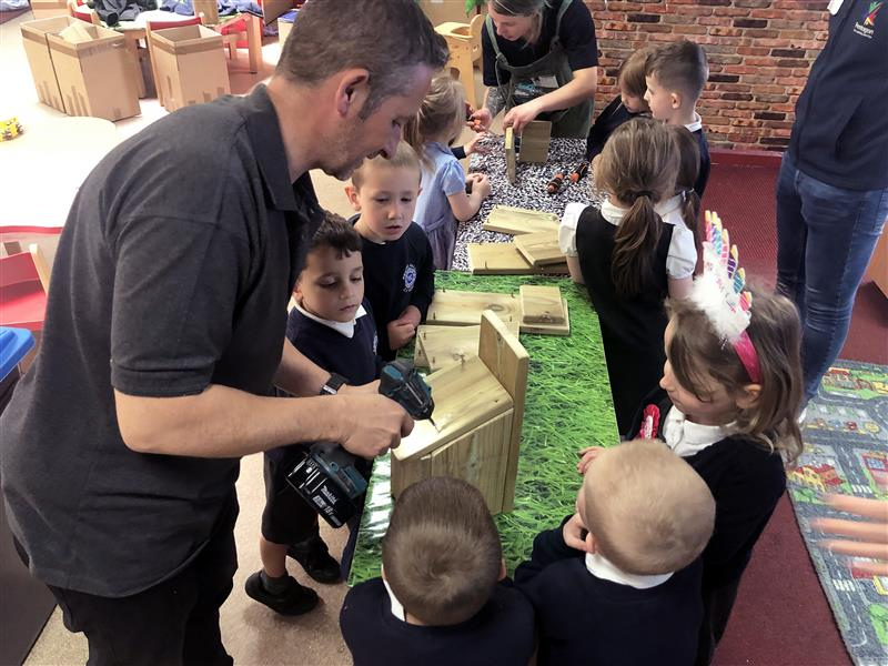 EYFS Construction Lessons