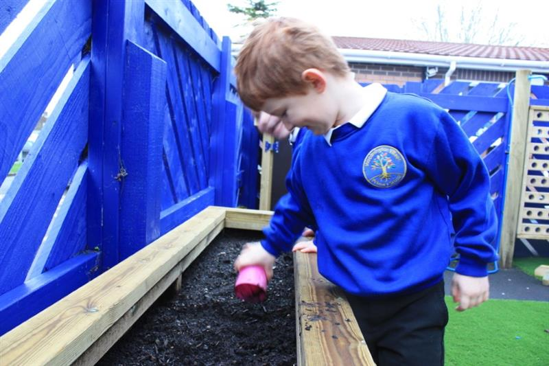Playground Planters for Schools