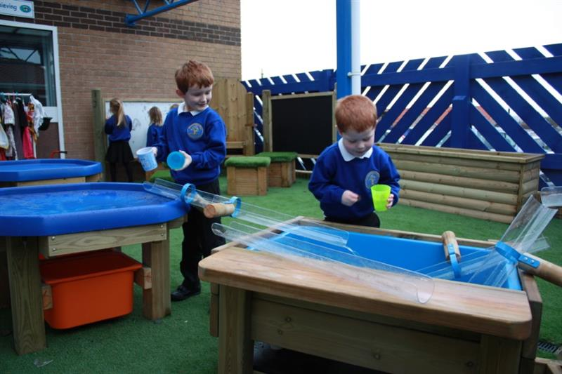 Water Play Equipment For KS1