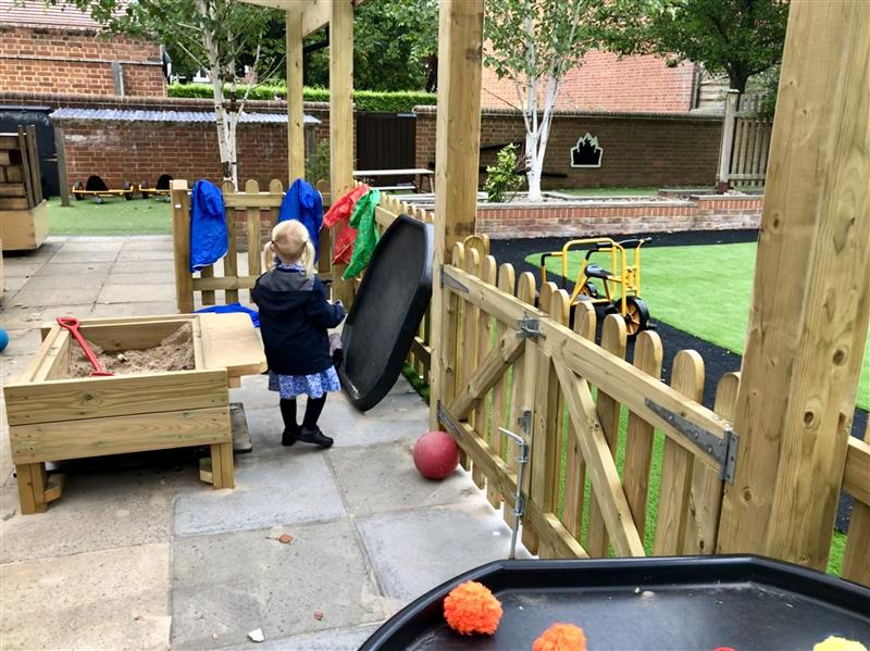 Timber Canopies For Nurseries