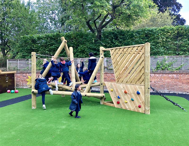 Climbing Frames For Early Years Children
