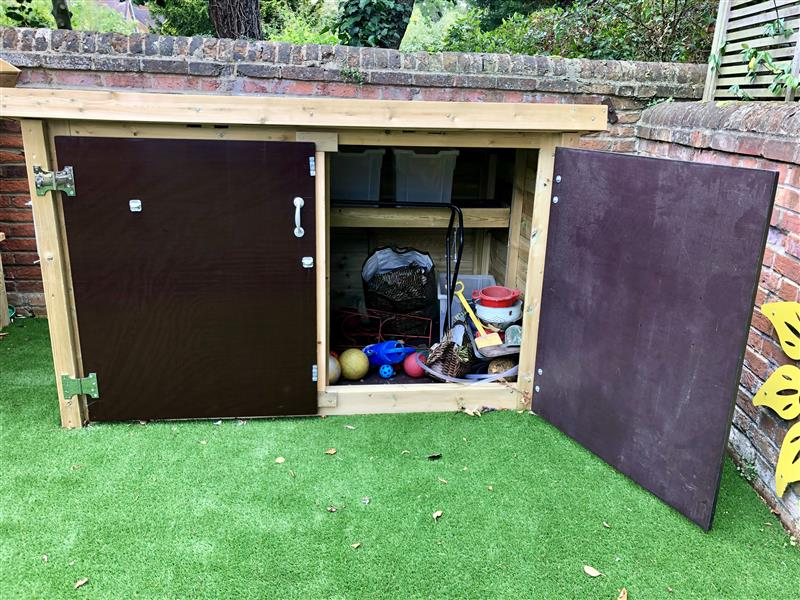 School Playground Storage