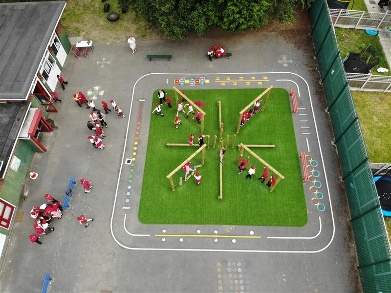 active play area for schools