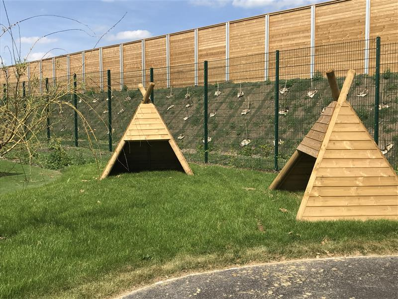 a front view of our wigwam products