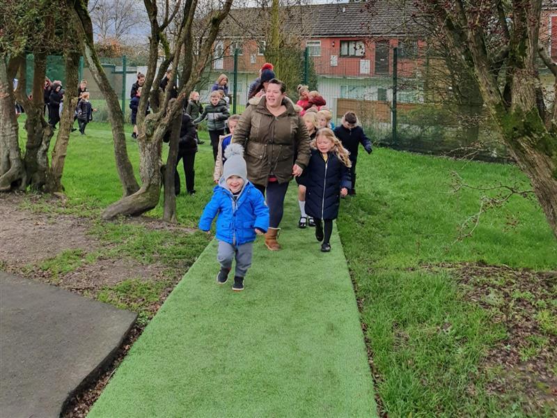 Artificial Grass Tracks For Schools