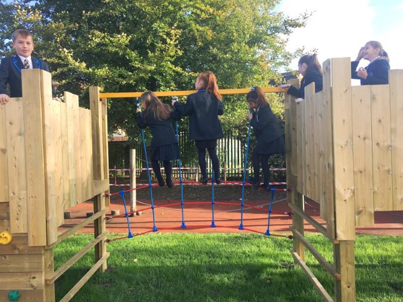 School Playground Towers
