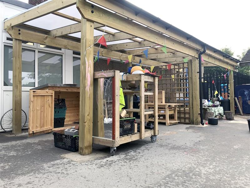 Timber Canopies For Nursery Gardens