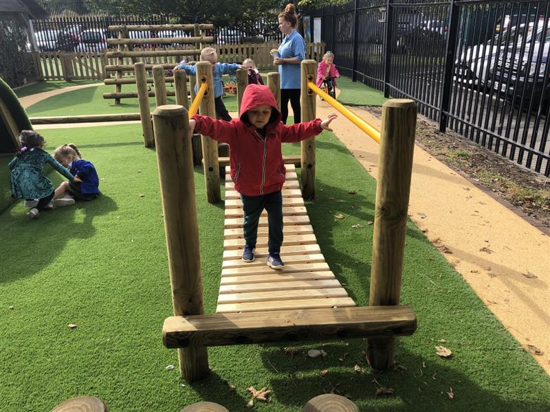 Trim Trail Equipment For Nursery Gardens