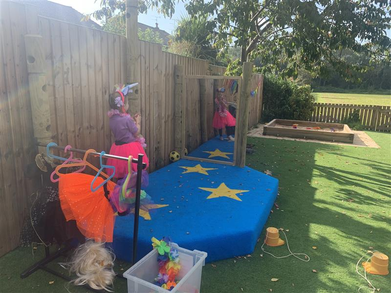 Mini Performance Stages For Nursery