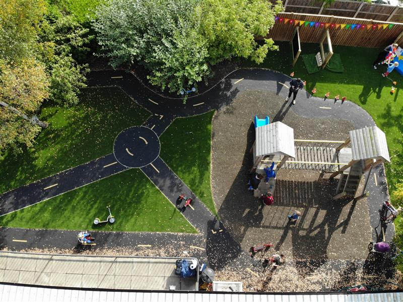 Nursery School Playground Surfacing