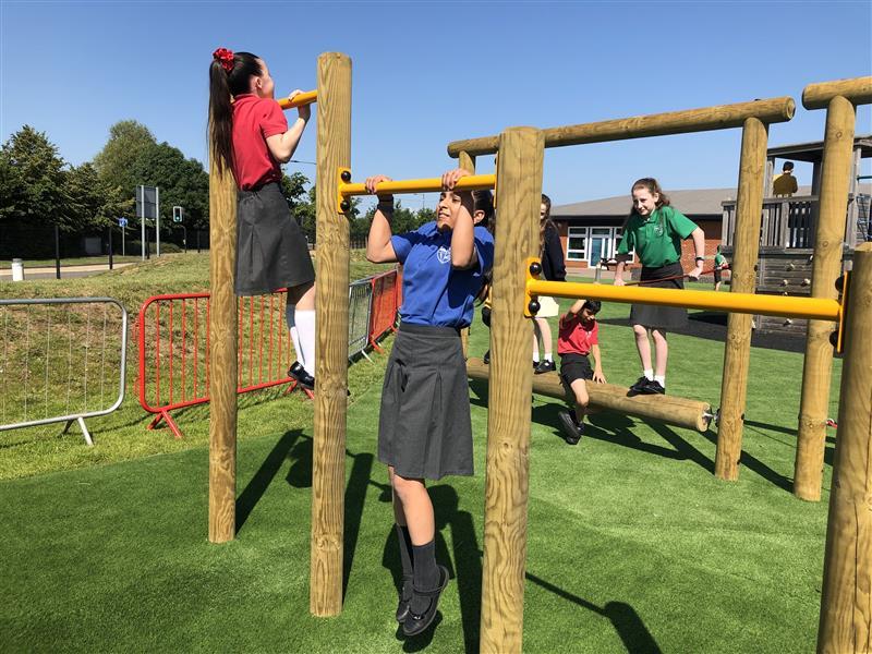 Trim Trail Equipment For Schools