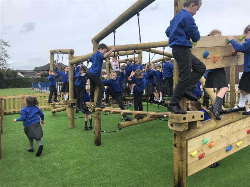Active Playground Equipment for Schools