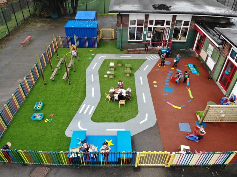 eyfs outdoor area ideas