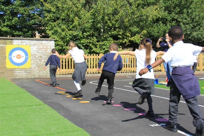 Thermoplastic Playground Markings For Schools