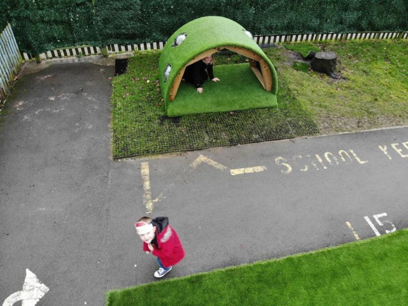 Dens For School Playgrounds