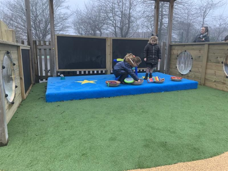 Playground Performance Stages for Schools